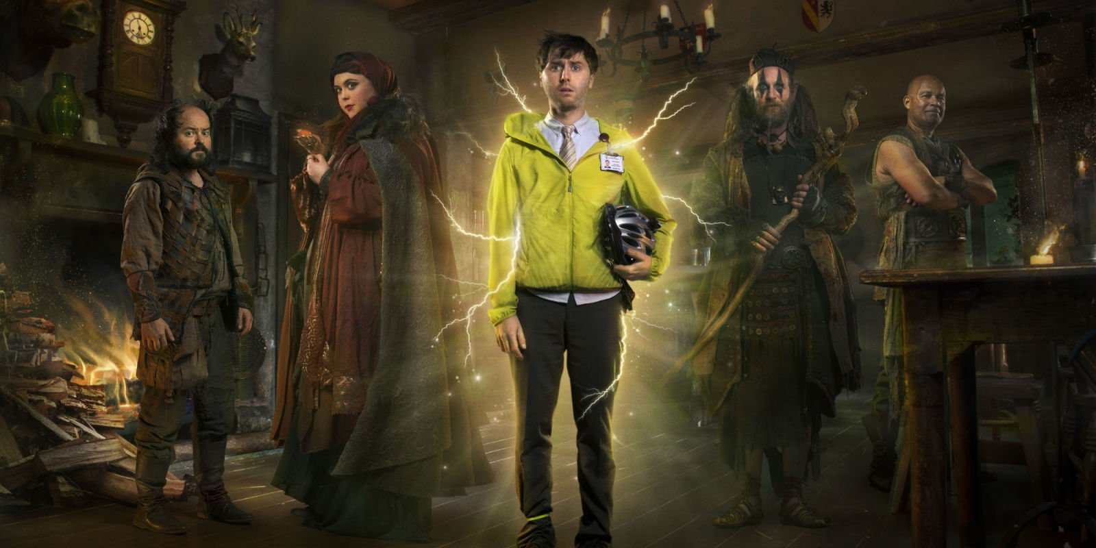 Dave announces it's bringing back Zapped and Porters for more episodes