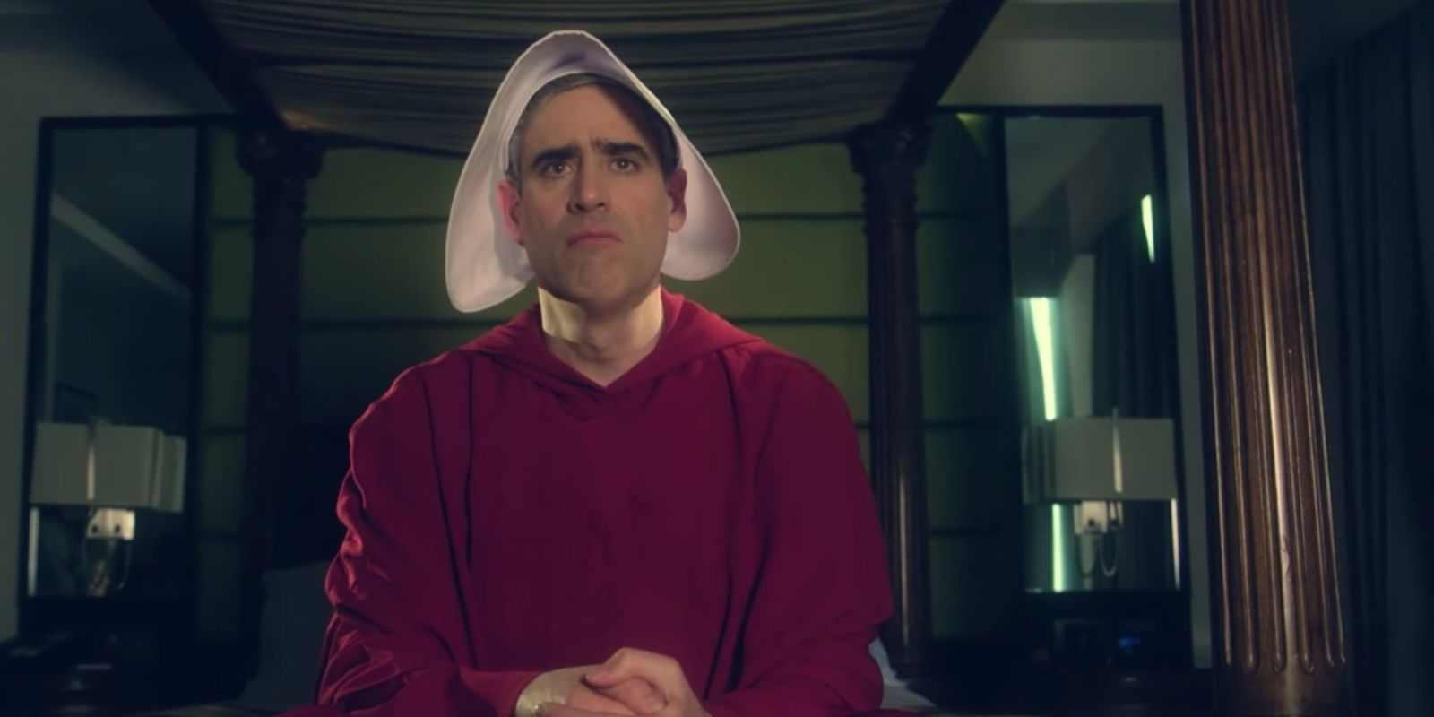 Stephen Mangan spoofs The Handmaid's Tale in BAFTA TV Craft Awards 2018 opening sketch