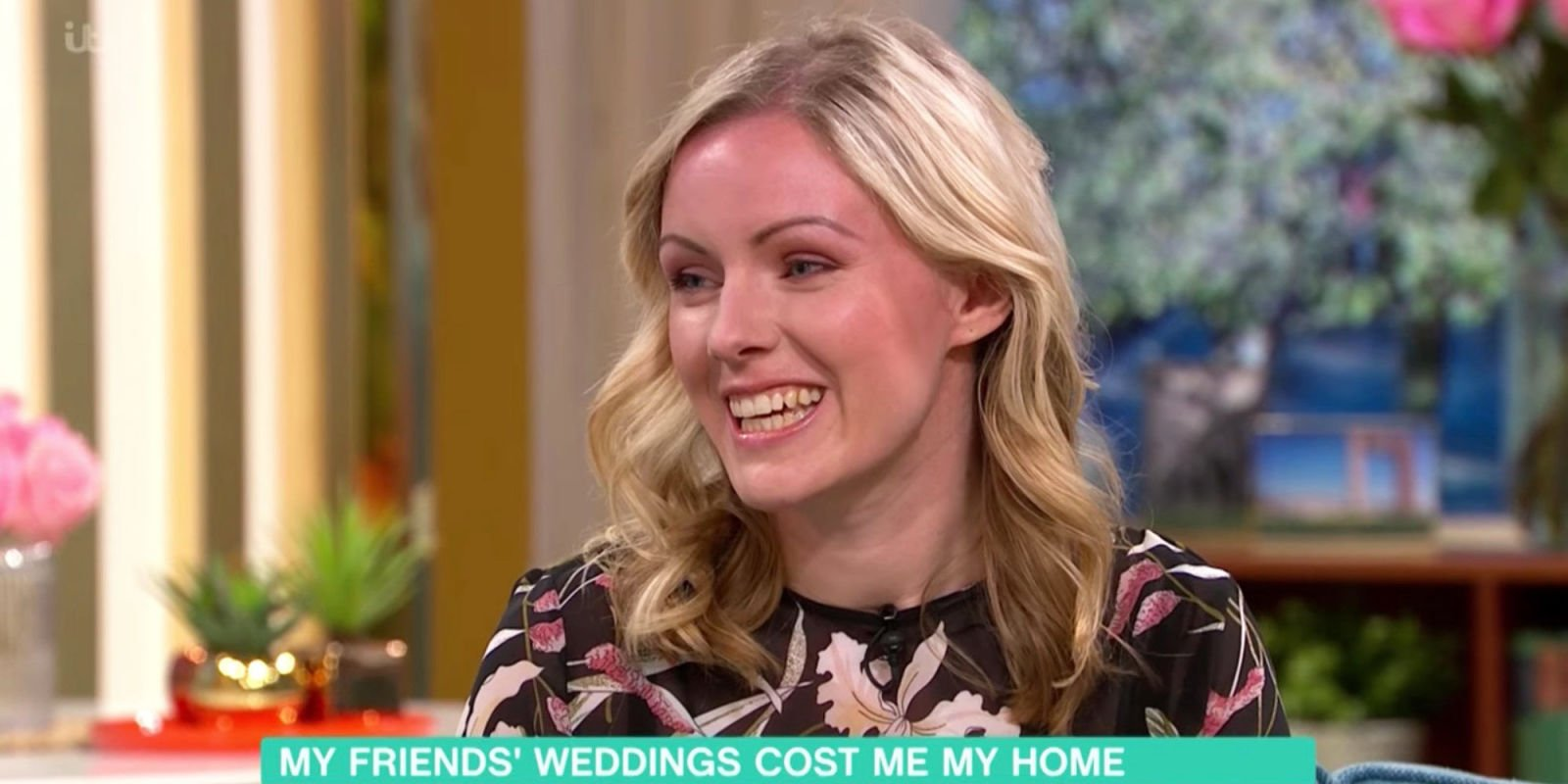 This Morning guest reveals she lost her house after spending £13,000 on her friends' weddings