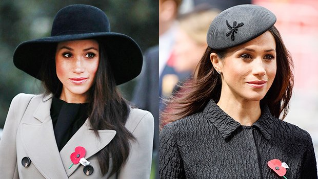 Meghan Markle Rocks 2 Amazing Coats & Hats In One Day — Which Is Your Fave?
