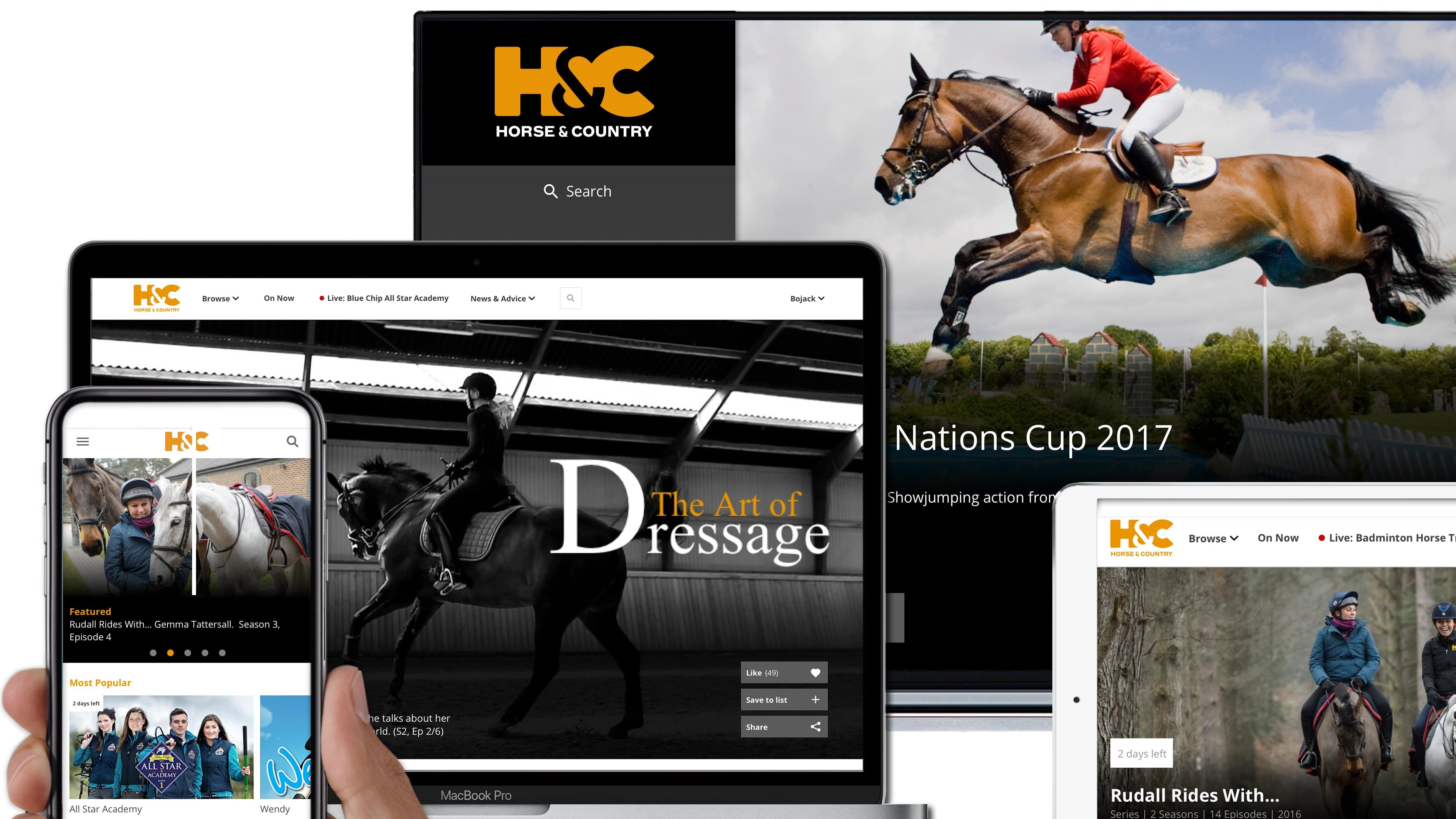 Equestrian Channel H&C Gallops into the U.S. (EXCLUSIVE)