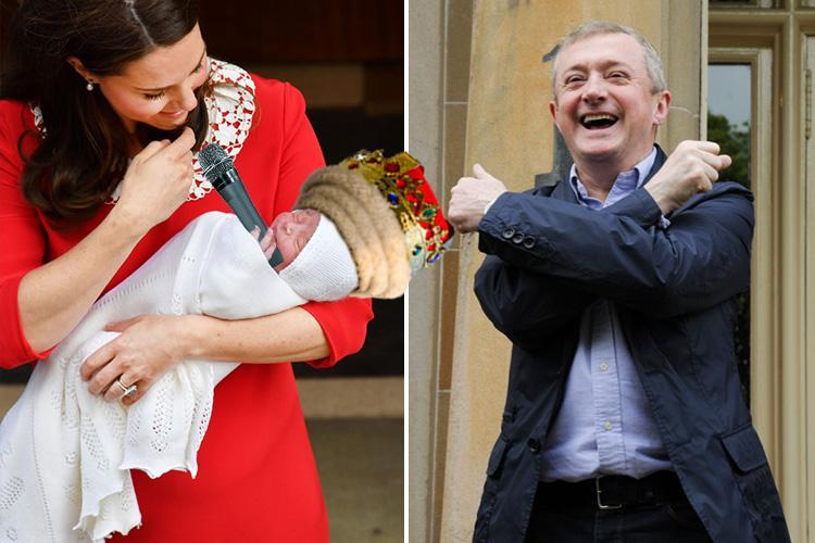 The X Factor's Louis Walsh thrilled as Kate and Wills call new Royal baby Louis