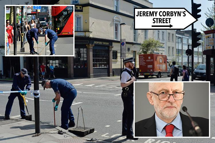 Finsbury Park stabbing – man stabbed to death just yards from Jeremy Corbyn's home as London murder count in 2018 hits 62