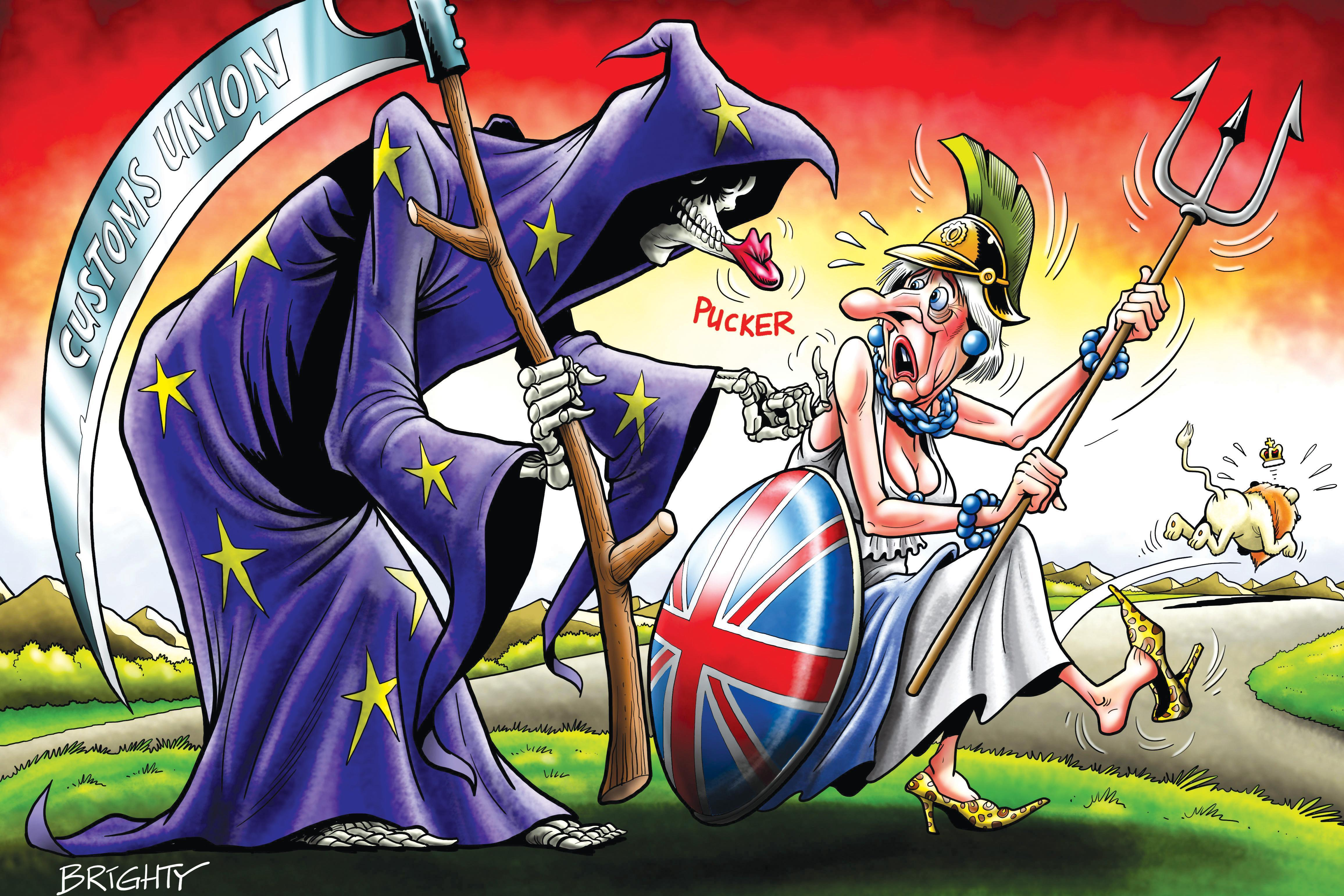 Staying in the EU's Customs Union will be kiss of death for the UK's future