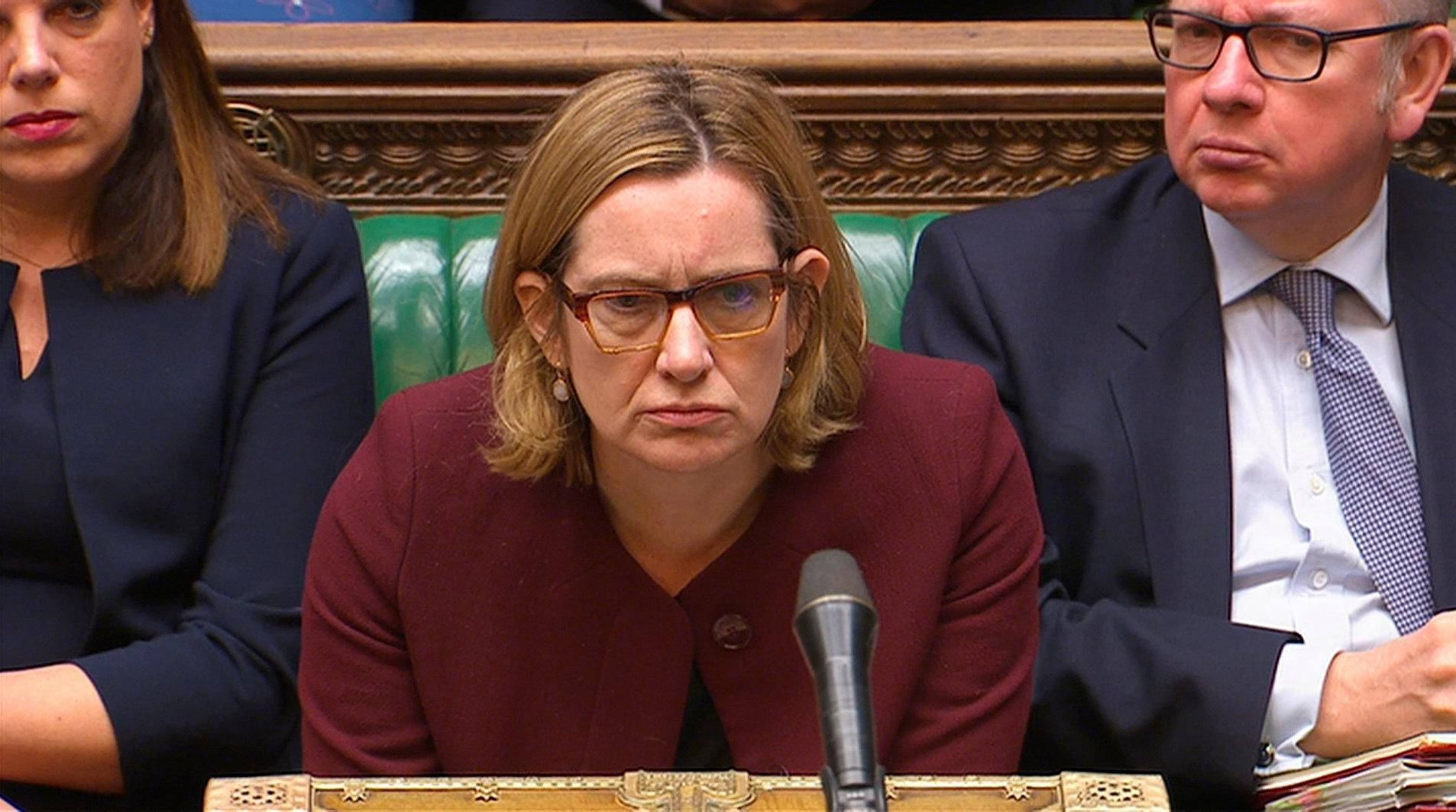 Home Sec Amber Rudd defies PM by saying Britain may stay in Customs Union