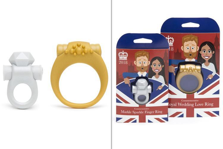 Meghan Markle and Prince Harry-themed sex toys released so 'most passionate royalists can celebrate wedding with a bang