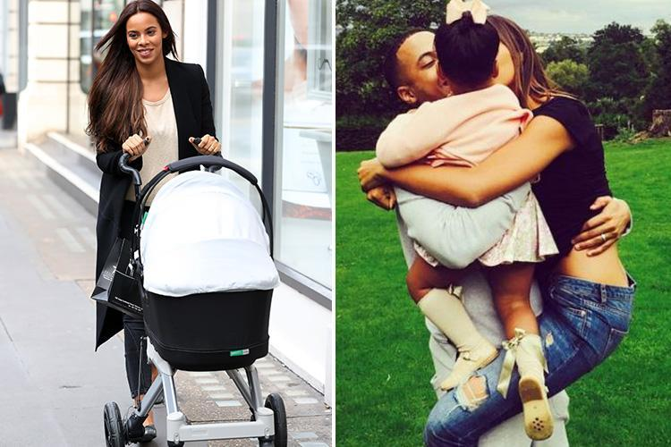 Rochelle Humes refuses to use 'diet' words such as 'weight' around her two daughters