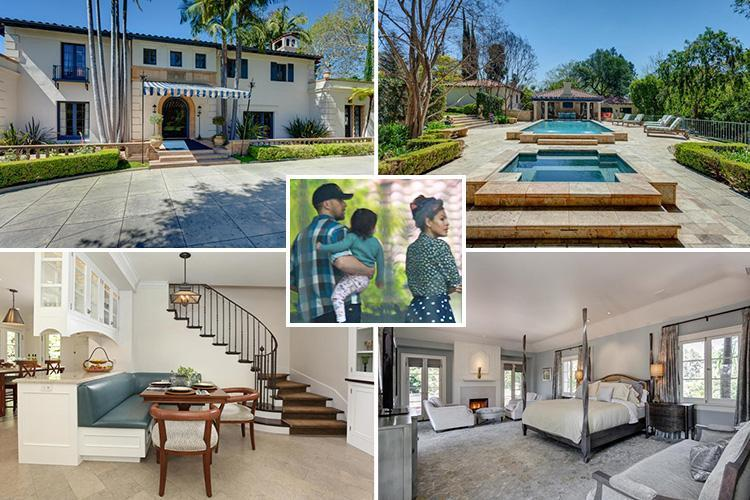 Ryan Gosling and Eva Mendes view £6m six bed luxury mansion in LA with daughters Esmerelda and Amada