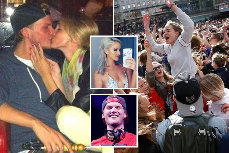 Avicii's ex-girlfriend breaks her silence as fans gather in Stockholm for a memorial dance party in the DJ's honour 24 hours after his shock death