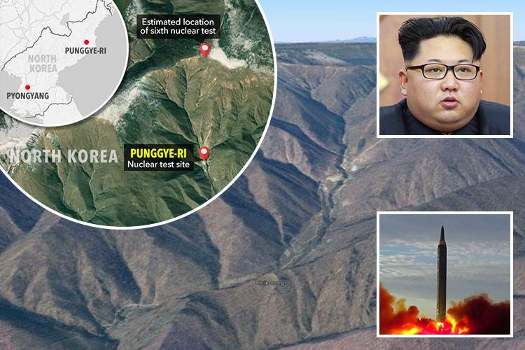 North Korea's nuclear site collapsed because radioactive mountain could no longer cope with the size of Kim Jong-un's bomb tests