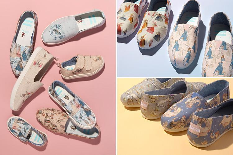 Disney princess pumps are now a thing… and you can even get ones with never-before-seen sketches of your favourite characters