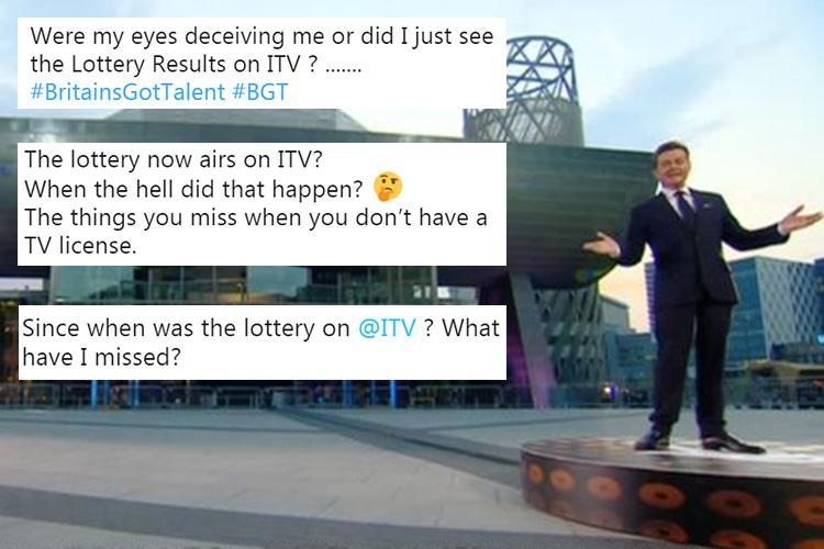 National Lottery appears on ITV for the first time EVER… leaving loads of fans totally confused