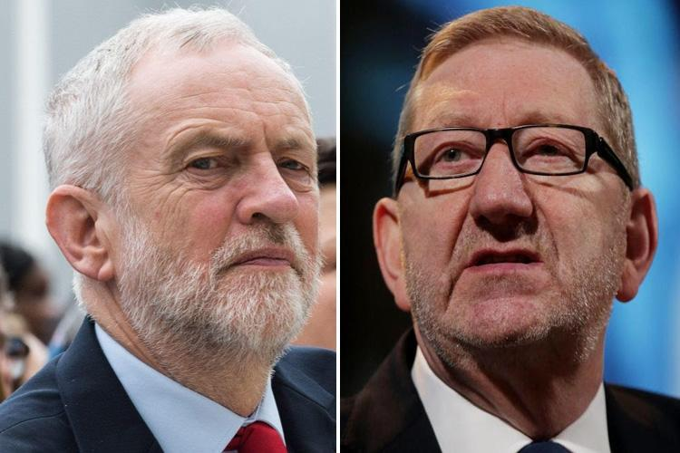 Jeremy Corbyn's biggest union donor threatens 'disgusting' Labour MPs