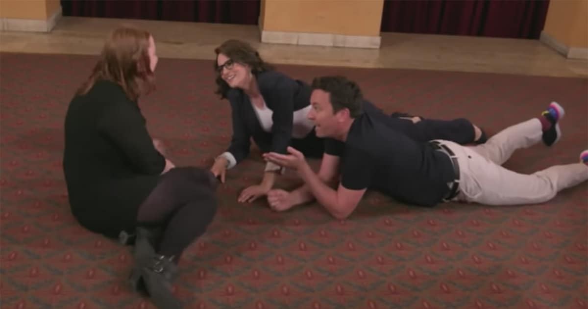 Tina Fey Makes Fans Cry During 'Tonight Show' Surprise, Then Jimmy Fallon Turns the Tables