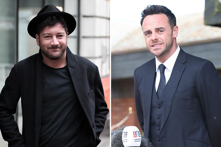 Matt Cardle says Ant McPartlin needs to 'forget his career' and take a break to beat the booze