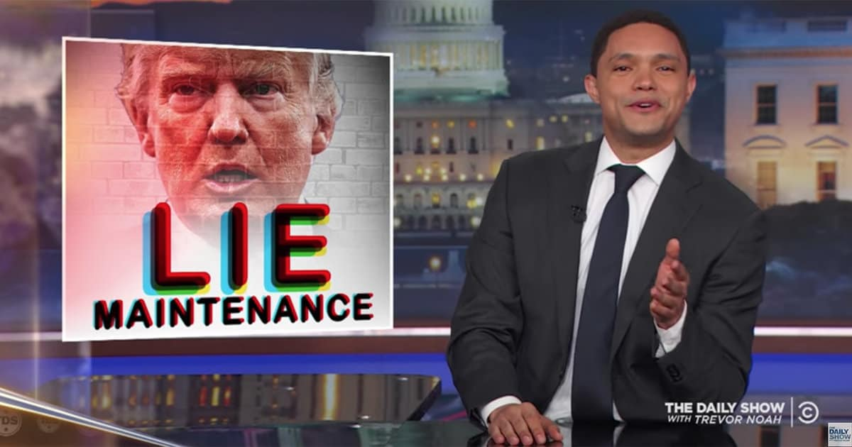 Trevor Noah Dives Into Trump's 'Origin Lie' and Why His Supporters Should Be Pissed About It