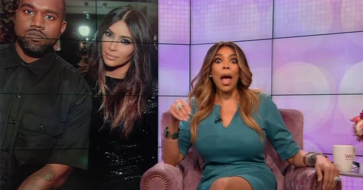 Wendy Williams Fat-Shames Kanye West and Says He Shouldn't Be 'Alone With the Children'