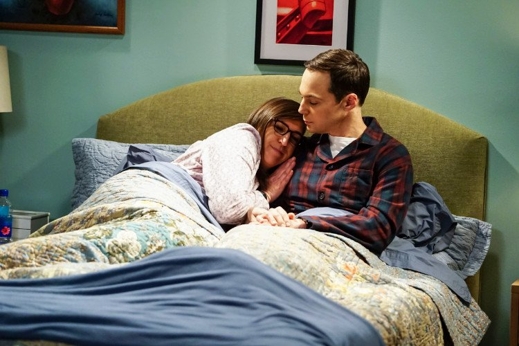 'The Big Bang Theory' Unveils First Look at Sheldon and Amy's Wedding