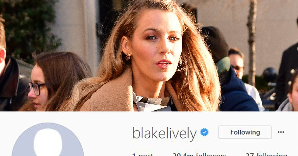 Now We Know Why Blake Lively Deleted Instagram Posts and ...