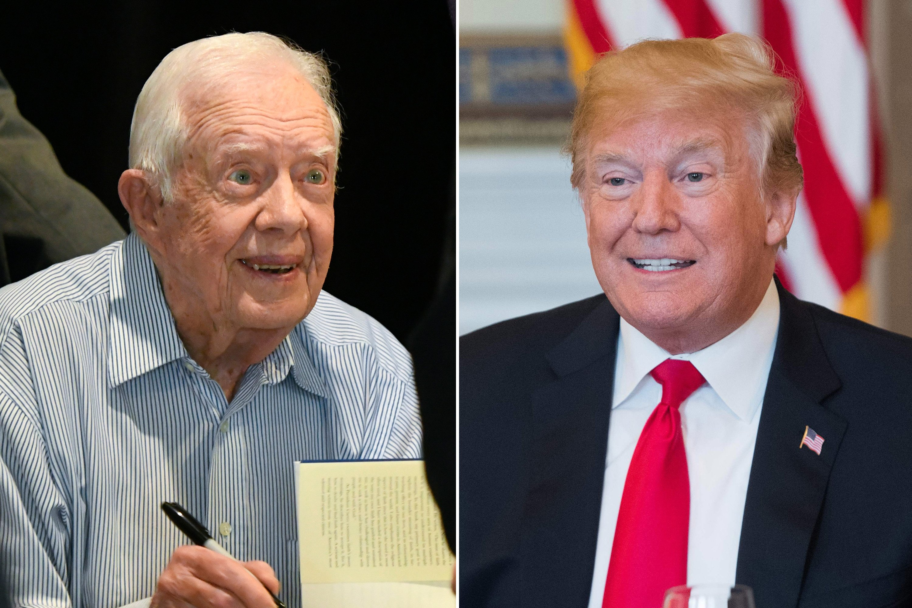 Carter: Trump could be worthy of Nobel Peace Prize