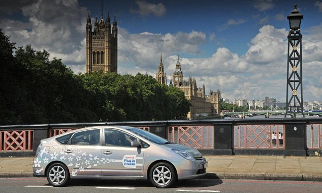 Silent electric cars fitted with built-in noises to warn pedestrians