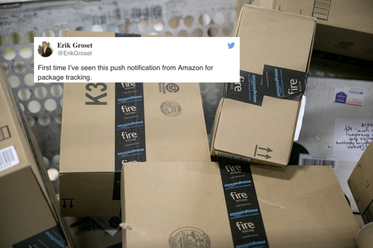 You Can Now Track Your Amazon Packages In Real Time