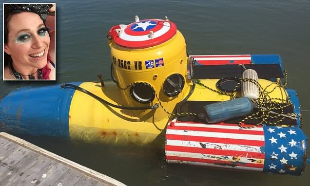Homemade submarine 'stolen and taken for a joyride' is found