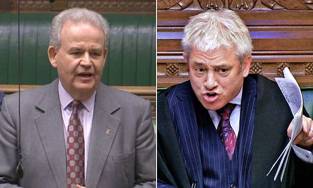 QUENTIN LETTS watches as Bercow answers planted bullying question