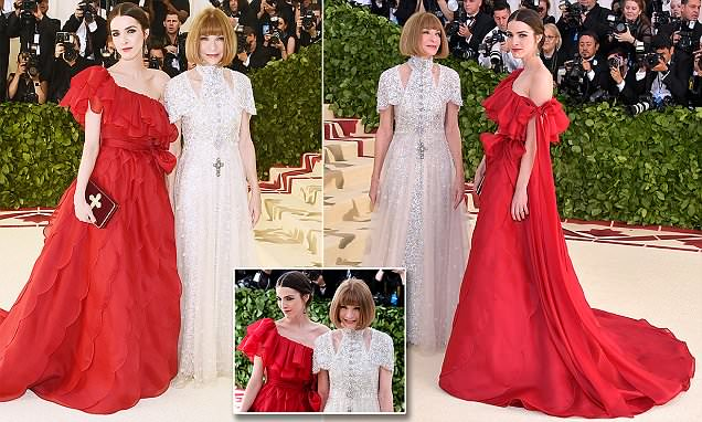 Anna Wintour and Bee Shaffer wow at the Met Gala