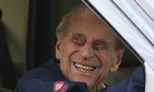 Prince Philip WILL go to the Royal Wedding, Buckingham Palace confirms