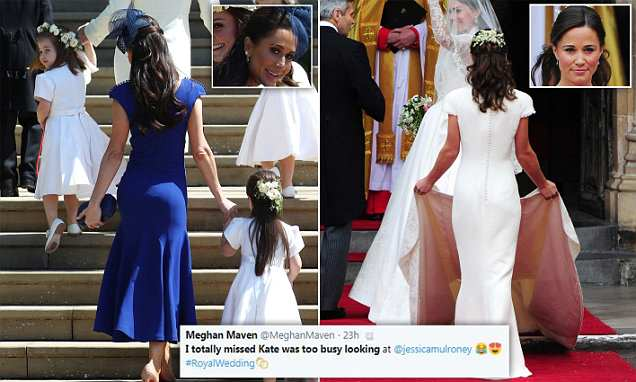 Jessica Mulroney 'stole the show' with 'Pippa moment' at Royal Wedding
