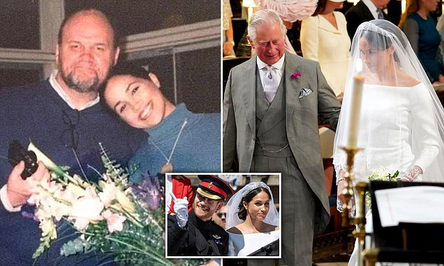 Meghan Markle 'didn't talk to her father' on her wedding day
