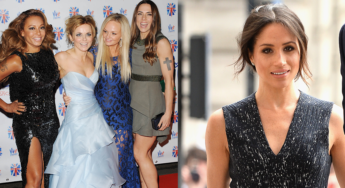 You Might See Meghan Markle's Delightful Friendship With This Spice Girl At The Royal Wedding