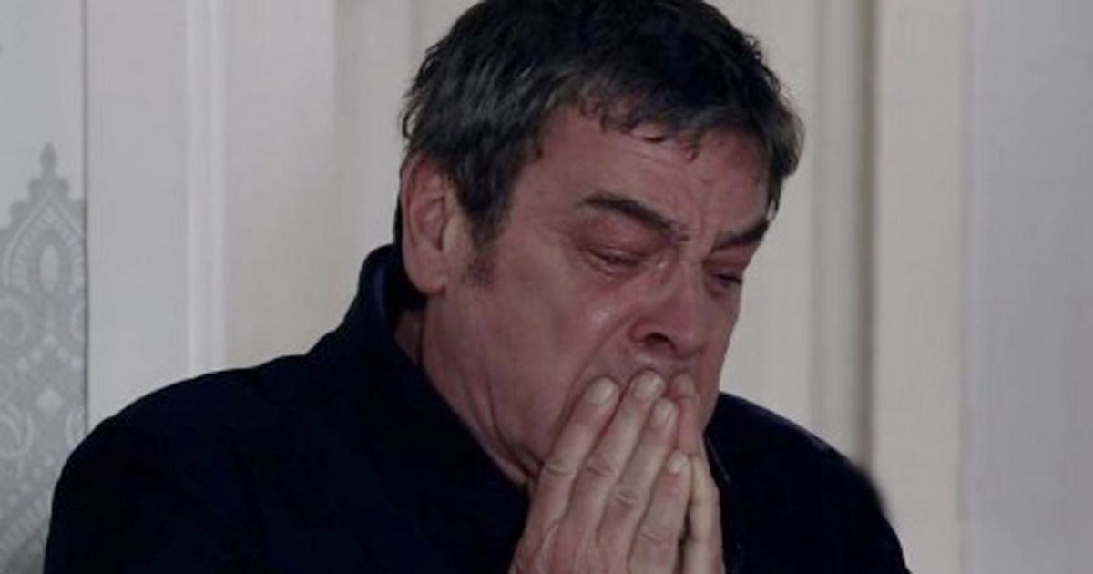Corrie's Johnny Connor says goodbye to son Aidan in utterly heartbreaking scenes