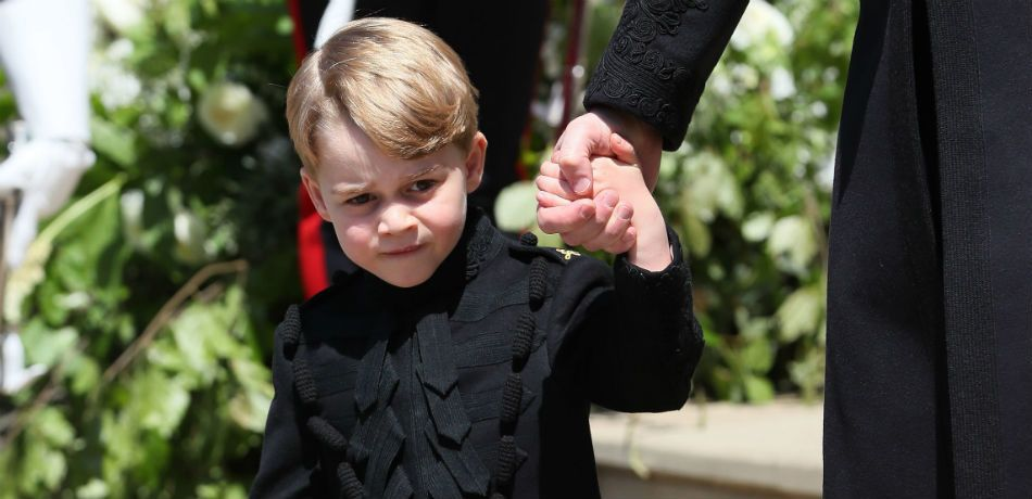 Prince George Did The Sweetest Thing During The Royal Wedding
