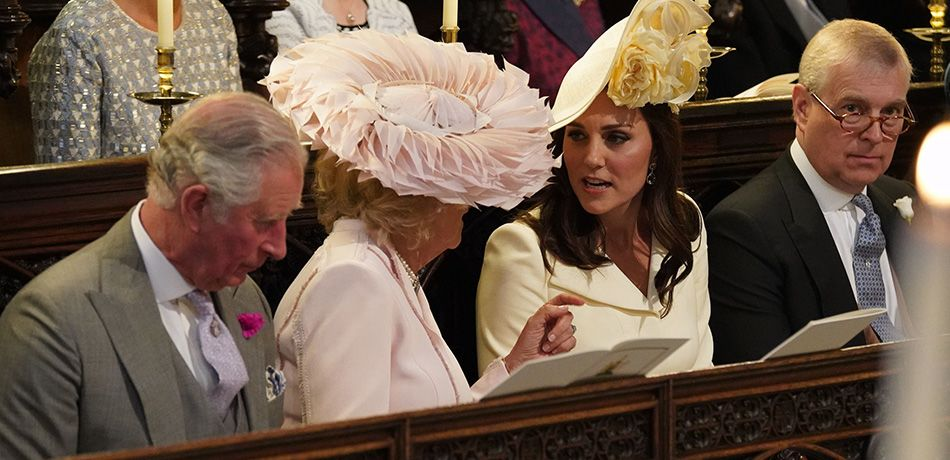 Kate Middleton Gives Camilla A Wicked Side Eye At The Royal Wedding