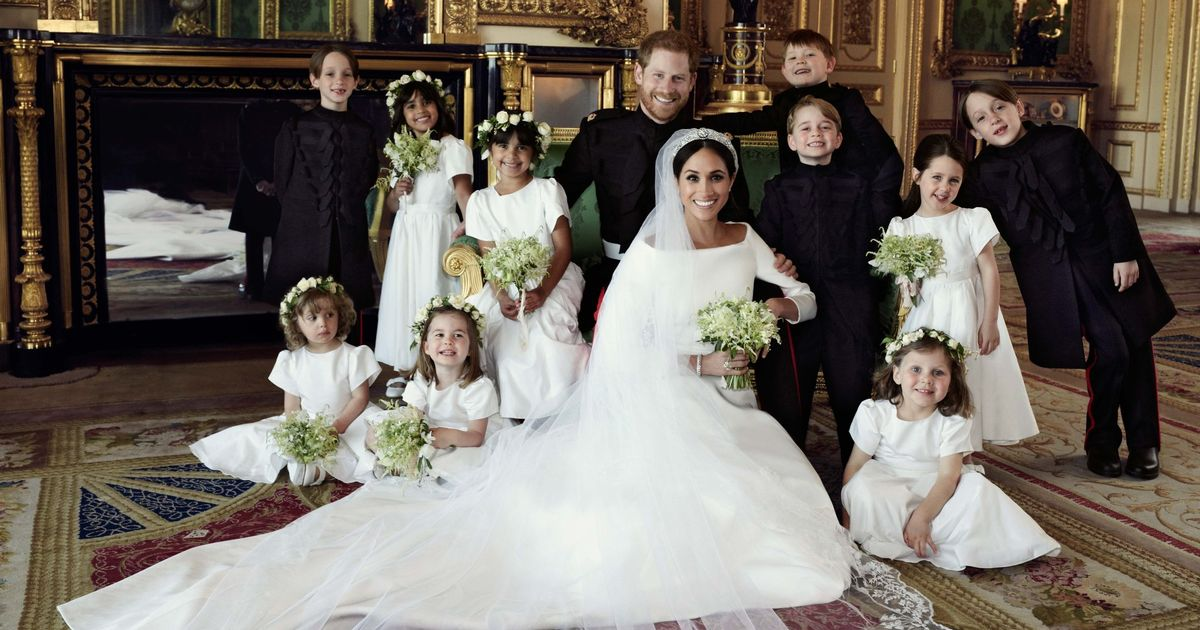 Stunning official Royal Wedding pictures released
