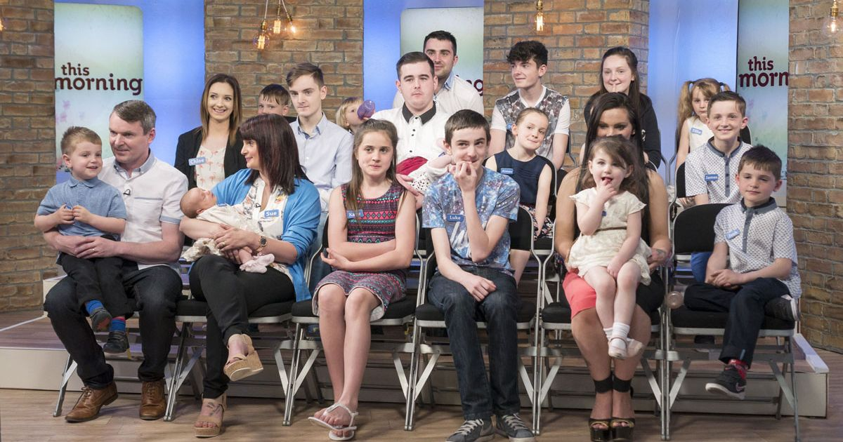 UK's biggest family expecting 21st baby months after saying 20th was their last