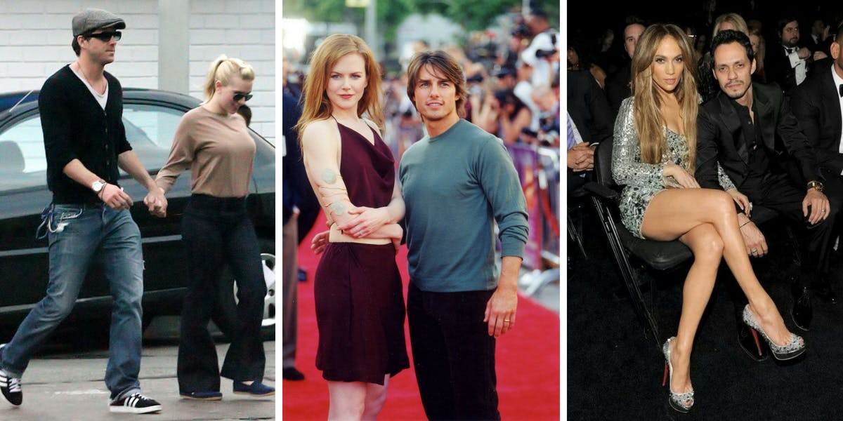 21 Celebs Who Can't Stop Walking Down The Aisle