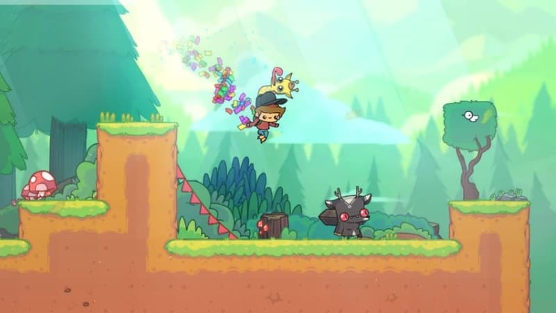 The Adventure Pals review: hot dogs and hilarity in post-modern platformer