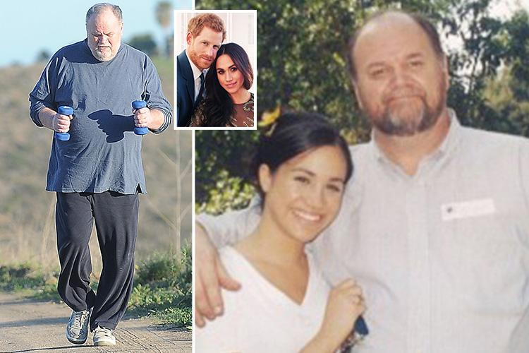Meghan Markle's dad WILL walk her down the aisle in Royal Wedding to Prince Harry this month