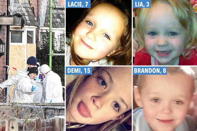 Distraught brother saw tragic sister's mobile light at window of Walkden home where she and three siblings died in blaze