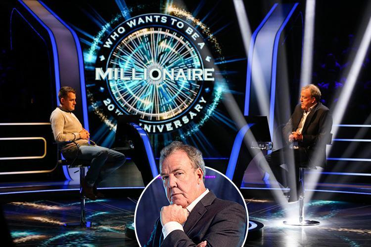Jeremy Clarkson scores a ratings win as rebooted Who Wants To Be A Millionaire? attracts 6million viewers