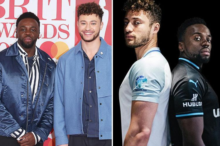 Rak-Su sign up for Soccer Aid with Usain Bolt and Robbie Williams – but they're playing for opposite teams in the charity match