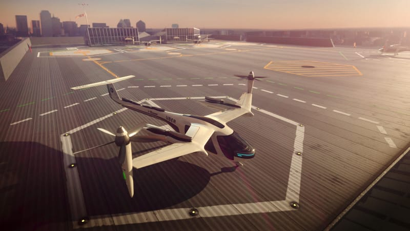 Flying cars a step closer as Uber, NASA team up