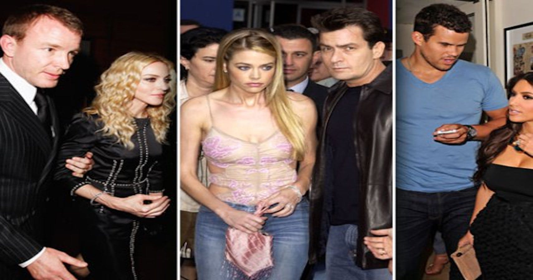 5 Nasty Celebrity Divorces They Want To Forget
