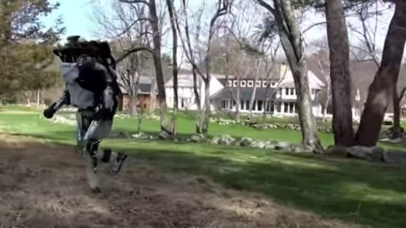 'What do you do?': Jogging robot video freaks out the internet