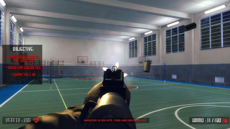 Video game that simulated school shooting pulled from online store