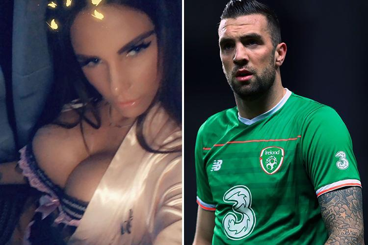 Katie Price 'dumped' by footballer Shane Duffy after relationship was exposed by The Sun