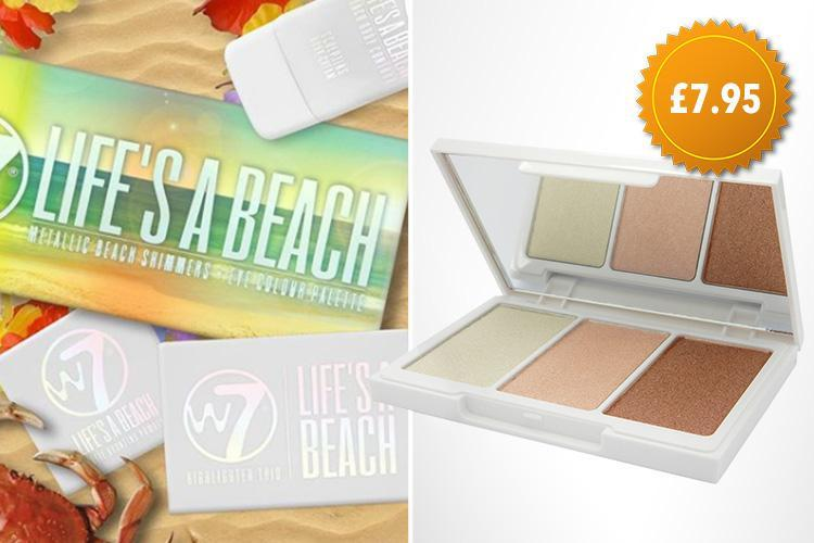 W7 release summer-inspired make-up collection… and you can nab it for as little as £7.95